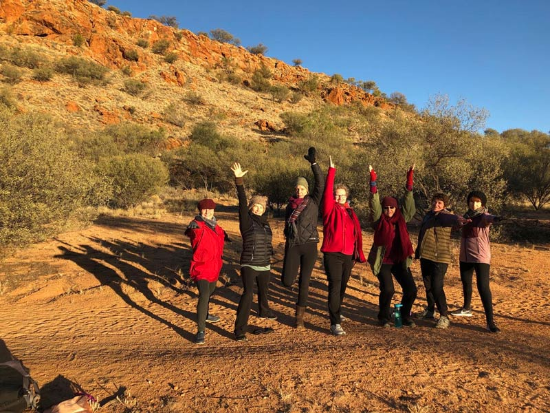 Alice Springs Yoga Retreat