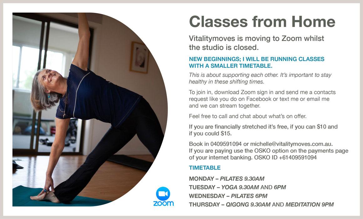 zoom classes vitalitymoves yarra valley fitness